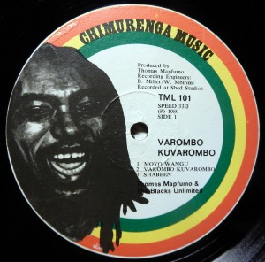 Thomas Mapfumo, label