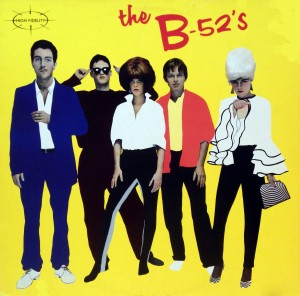 the B-52's, voorkant