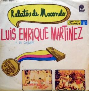 Luis Enrique Martinez, voorkant