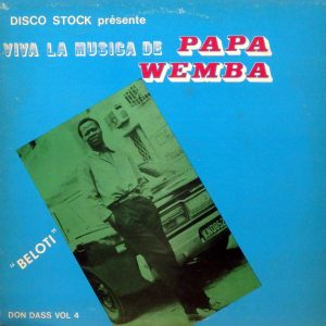 Papa wemba, voorkant