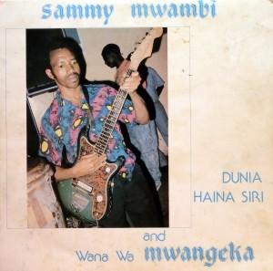 Sammy Mwambi, voorkant