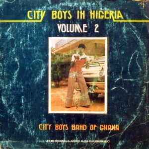 City Boys, voorkant