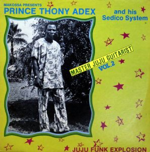 Prince Thony Adex, voorkant