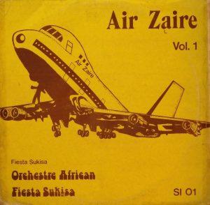 Air Zaïre, voorkant