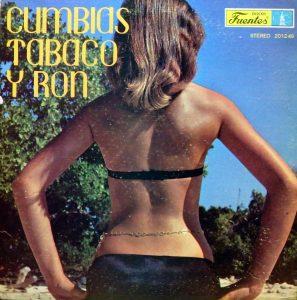 Cumbias Tabaco y Ron, voorkant