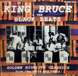 King Bruce & the Black Beats, voorkant