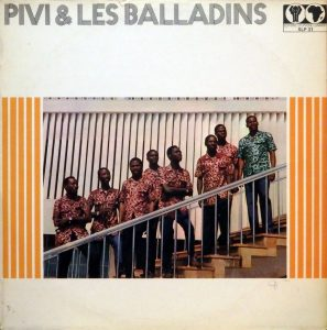 Pivi et les Balladins, voorkant