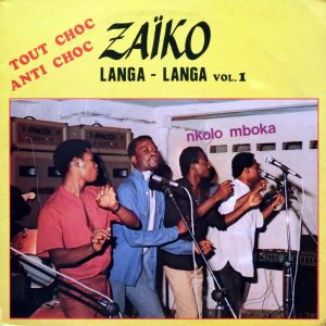 Zaïko Langa-Langa, voorkant
