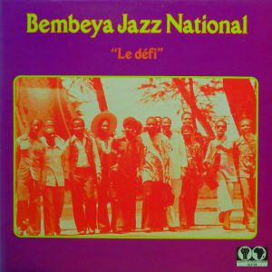 Bembeya jazz, voorkant