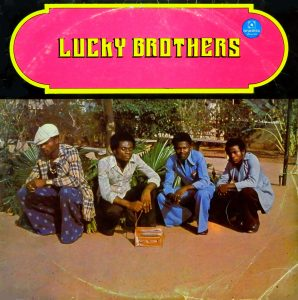 Lucky brothers, voorkant