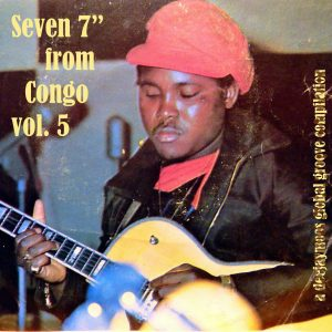 Seven 7 inches from Congo vol. 5, voorkant