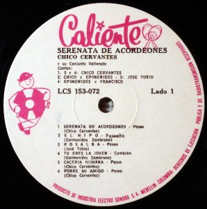 Chico Cervantes, label a-side