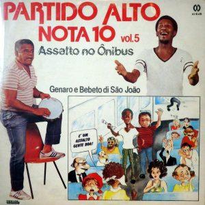 Genaro e Bebeto di São João, voorkant