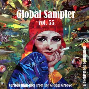 Global Sampler vol. 55, voorkant