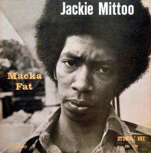 Jackie Mittoo, voorkant