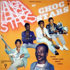Langa Langa et Choc Stars, voorkant