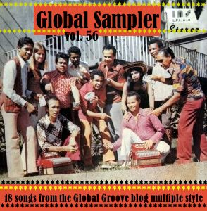 Global Sampler vol. 56, voorkant